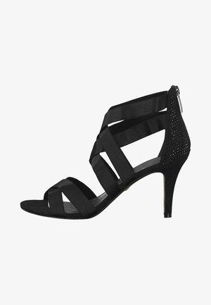 HEITI - Korolliset sandaalit - black