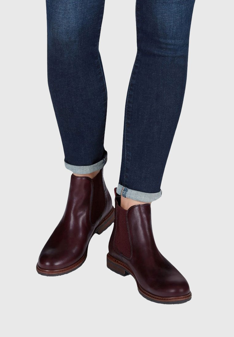 Tamaris - Classic ankle boots - red