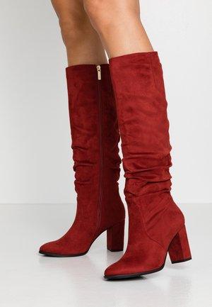 Støvler - brick