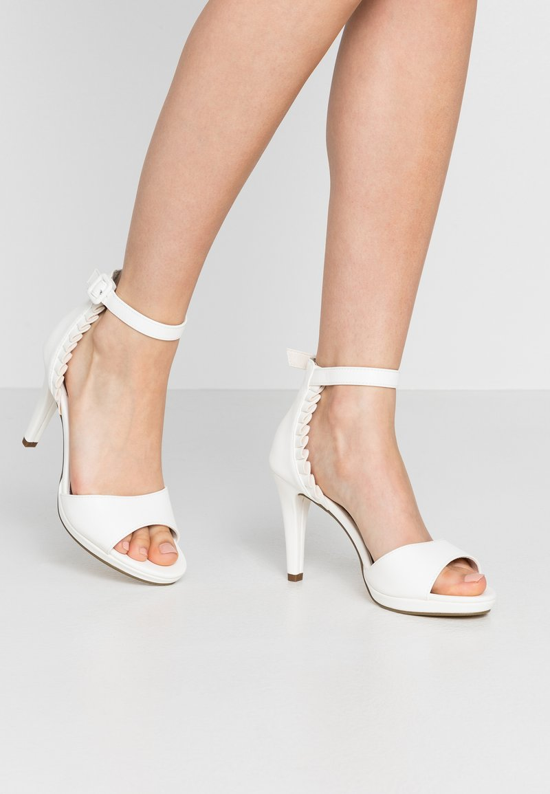 Tamaris - High heeled sandals - white