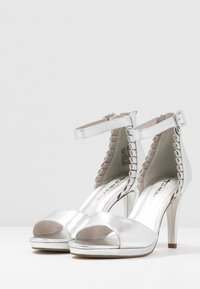 Tamaris - High heeled sandals - silver - 4