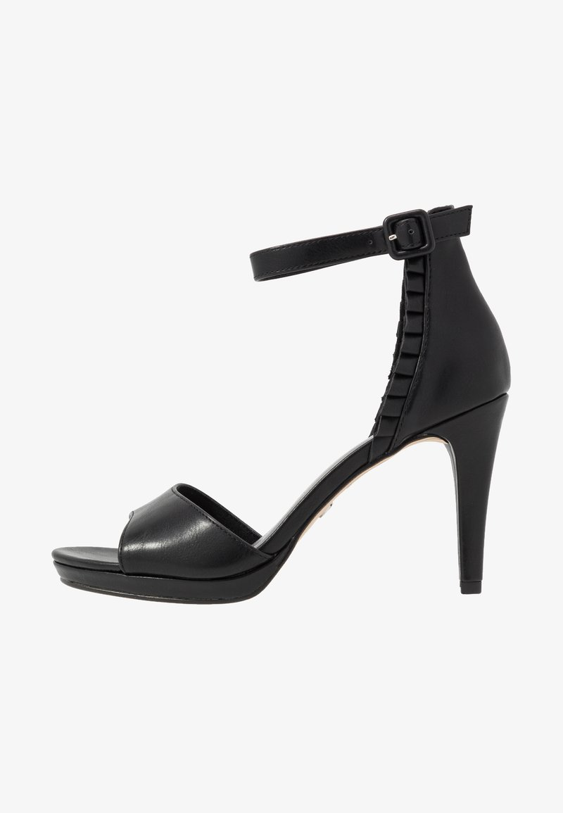Tamaris - Sandalen met hoge hak - black
