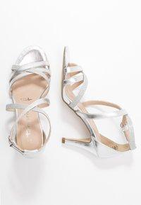 Tamaris - Sandály na vysokém podpatku - silver - 3