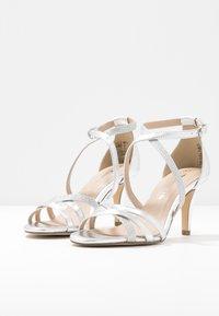 Tamaris - Sandály na vysokém podpatku - silver - 4
