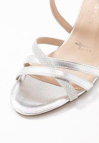 Tamaris - Sandály na vysokém podpatku - silver - 2