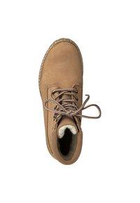 Tamaris - Šněrovací kotníkové boty - beige - 1
