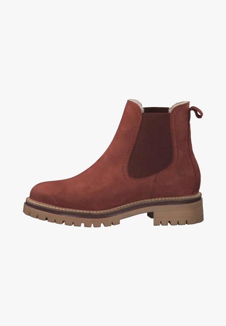 Tamaris - CHELSEA  - Classic ankle boots - brick
