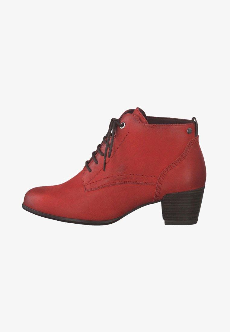 Tamaris - Veterboots - red