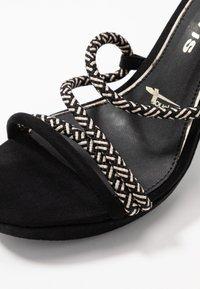 Tamaris - Sandály na vysokém podpatku - black - 6