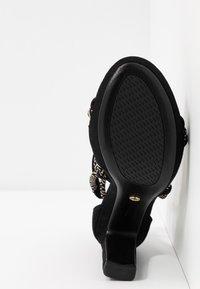 Tamaris - Sandály na vysokém podpatku - black - 5