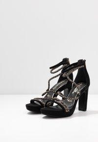 Tamaris - Sandály na vysokém podpatku - black - 3