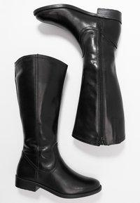 Tamaris - Kovbojské/motorkářské boty - black - 3