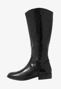 Tamaris - Kovbojské/motorkářské boty - black - 1