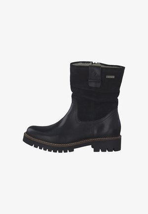 Classic ankle boots - black comb