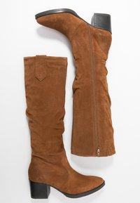 Tamaris - BOOTS - Støvler - cognac - 3