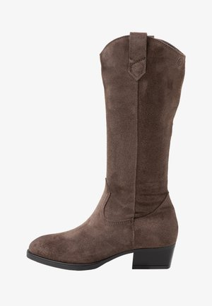 BOOTS  - Cowboy- / Bikerboots - taupe