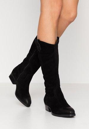 BOOTS  - Cowboy/Biker boots - black