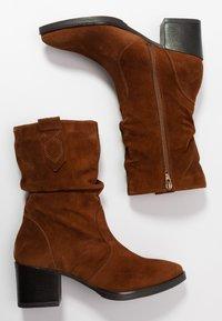 Tamaris - BOOTS - Vysoká obuv - cognac - 3