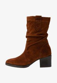 Tamaris - BOOTS - Vysoká obuv - cognac - 1