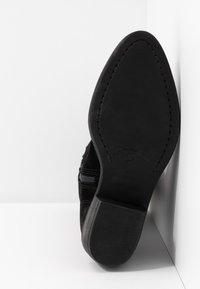 Tamaris - BOOTS - Cowboystøvler - black - 4