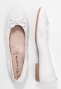 Tamaris - Ballet pumps - white - 3