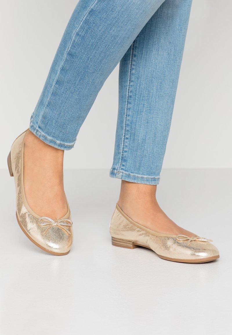 Tamaris - Ballet pumps - gold