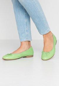 Tamaris - Ballet pumps - green - 0
