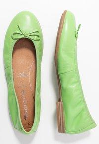 Tamaris - Ballet pumps - green - 3