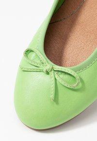 Tamaris - Ballet pumps - green - 2