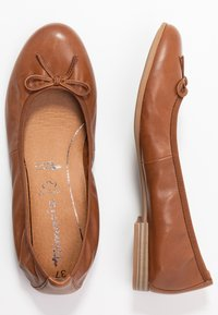 Tamaris - Ballet pumps - cognac - 3