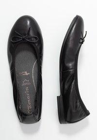Tamaris - Ballet pumps - black - 3
