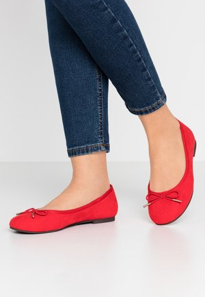 Ballet pumps - fire