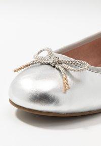 Tamaris - Ballet pumps - silver - 2
