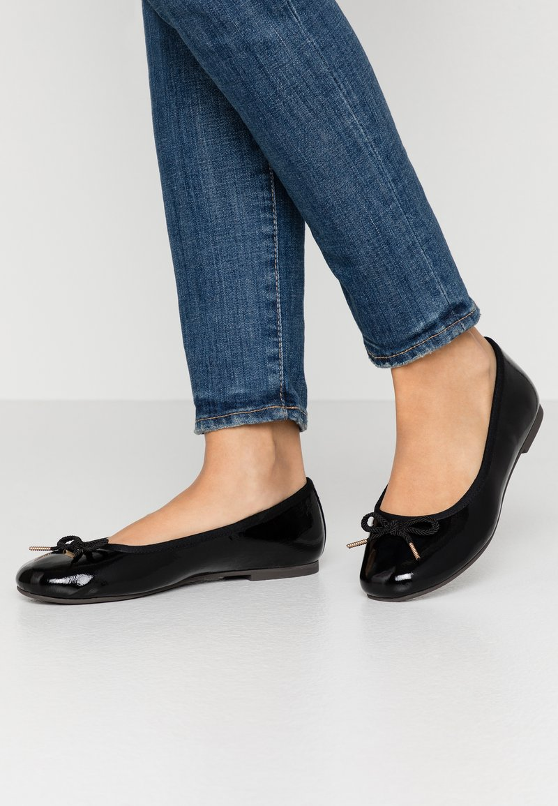 Tamaris - Ballet pumps - black