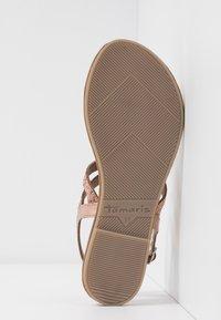 Tamaris - Sandály s odděleným palcem - copper - 6