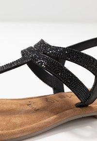 Tamaris - T-bar sandals - black - 2