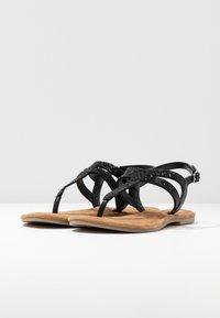 Tamaris - T-bar sandals - black - 4