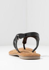 Tamaris - T-bar sandals - black - 5