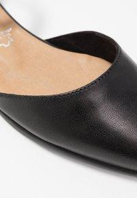 Tamaris - Ankle strap ballet pumps - black - 2