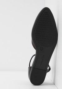 Tamaris - Ankle strap ballet pumps - black - 6