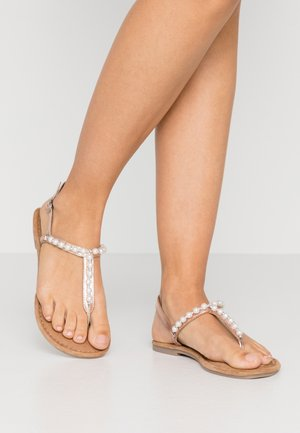 Teensandalen - rose metallic