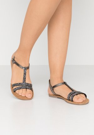 Sandals - pewter glam