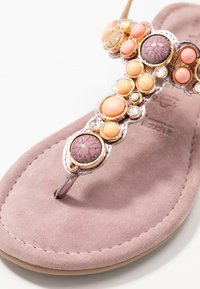 Tamaris - T-bar sandals - lilac metallic - 2