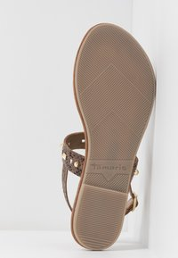 Tamaris - T-bar sandals - taupe - 6
