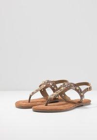 Tamaris - T-bar sandals - taupe - 4