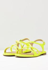 Tamaris - Sandals - yellow neon - 4