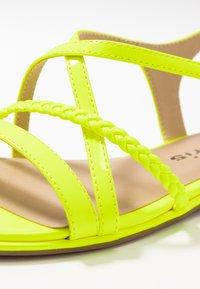 Tamaris - Sandals - yellow neon - 2