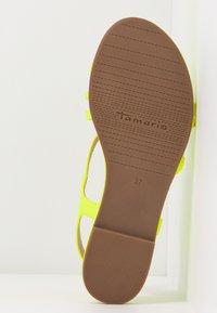 Tamaris - Sandals - yellow neon - 6