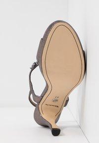 Tamaris - Korolliset sandaalit - pewter - 6