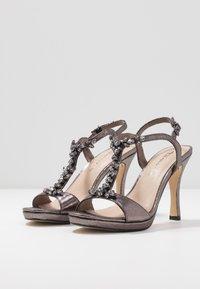 Tamaris - Korolliset sandaalit - pewter - 4